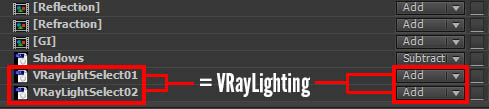 22-VRayLightSelect-Passes-Equals-VRayLighting